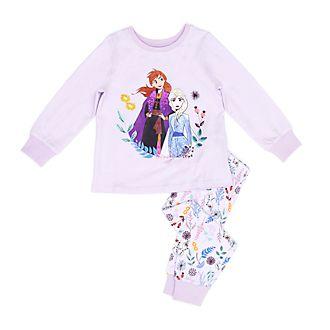 Pijama infantil de algodón ecológico Anna y Elsa, Frozen2, Disney Store