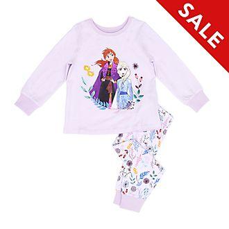 Disney Store Anna and Elsa Organic Cotton Pyjamas For Kids, Frozen 2