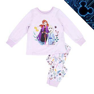 Pigiama bimbi in cotone bio Elsa e Anna Frozen 2: Il Segreto di Arendelle Disney Store