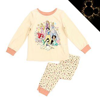Pijama infantil de algodón ecológico princesas Disney, Disney Store