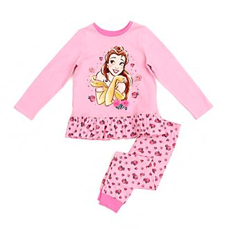 Disney Store Belle Organic Cotton Pyjamas For Kids, Beauty and the Beast