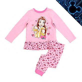 Disney Store - Die Schöne und das Biest - Belle - Pyjama für Kinder aus Bio-Baumwolle