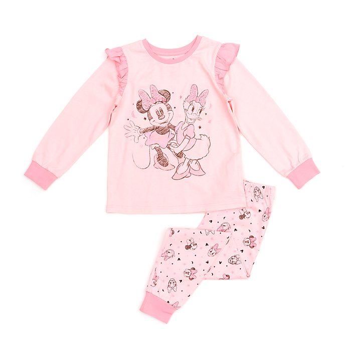 Disney Store Pyjama Minnie et Daisy en coton biologique pour enfants