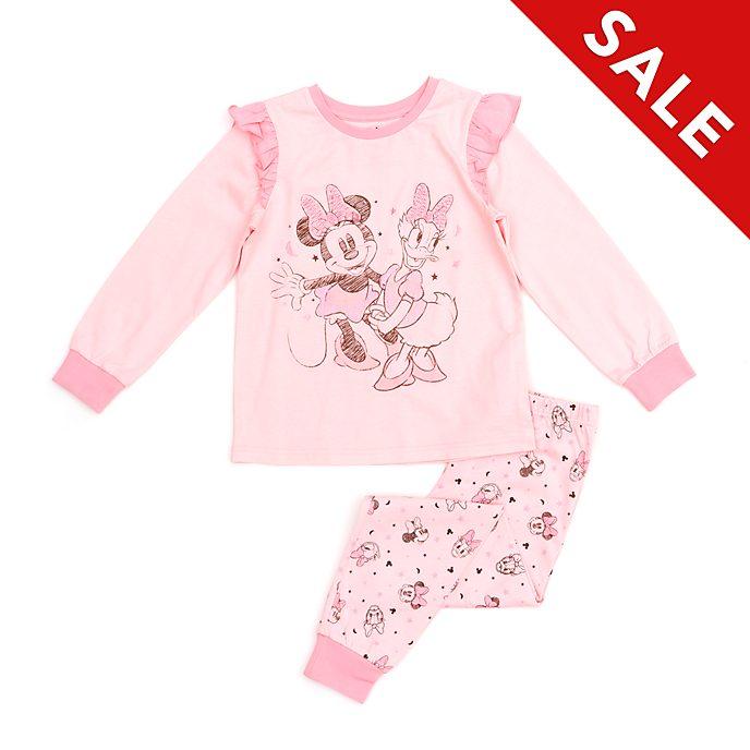 Disney Store - Minnie Maus und Daisy Duck - Pyjama für Kinder aus Bio-Baumwolle