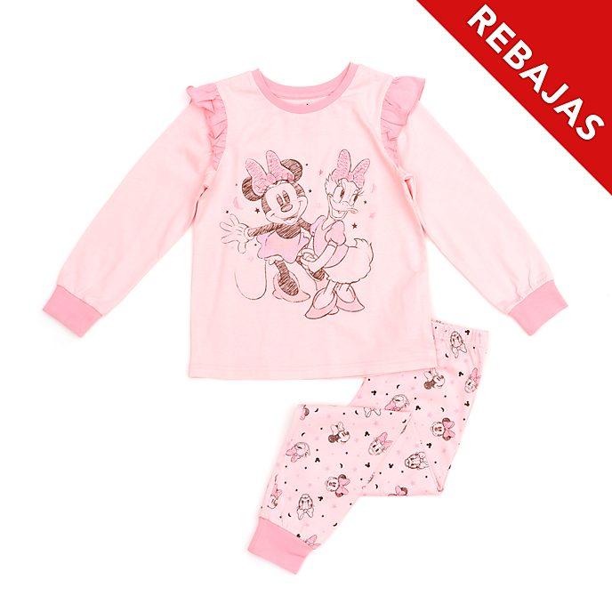 Pijama infantil de algodón ecológico Minnie Mouse y Daisy, Disney Store