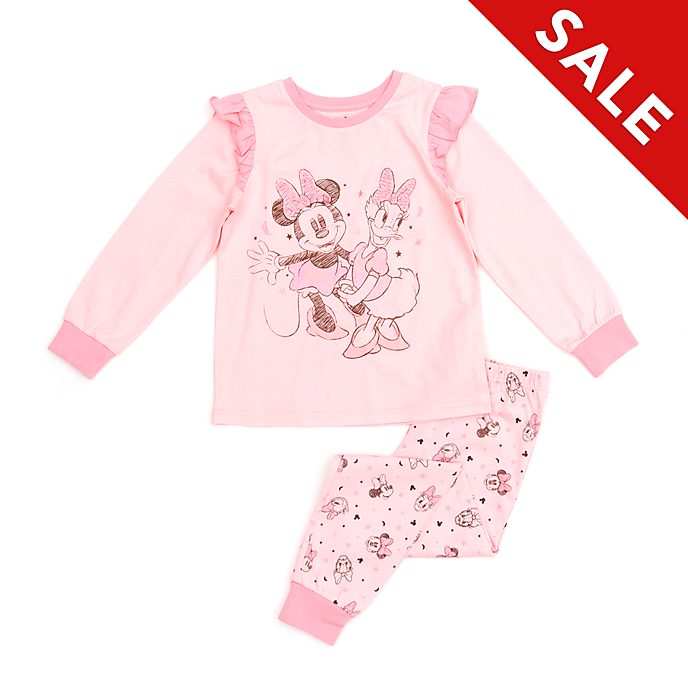 Disney Store Minnie Mouse and Daisy Duck Pyjamas For Kids