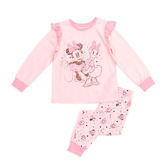 Disney Store Minnie Mouse and Daisy Duck Organic Cotton Pyjamas For Kids