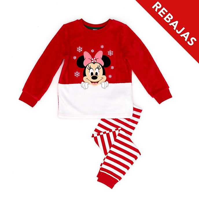 Pijama mullido infantil Minnie Mouse, Holiday Cheer, Disney Store