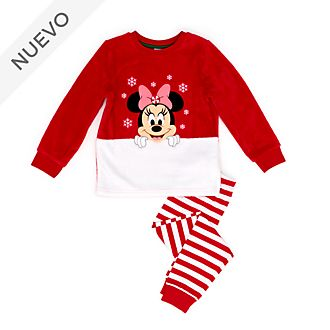 Pijama mullido infantil Minnie Mouse, Holiday Cheer, Disney Store