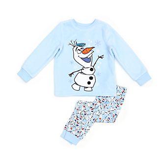 Disney Store - Die Eiskönigin2 - Olaf - Flauschiger Pyjama für Kinder