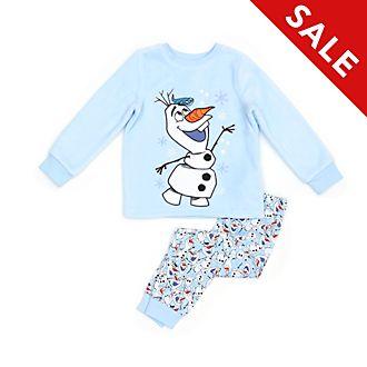 Disney Store Olaf Fluffy Pyjamas For Kids, Frozen 2