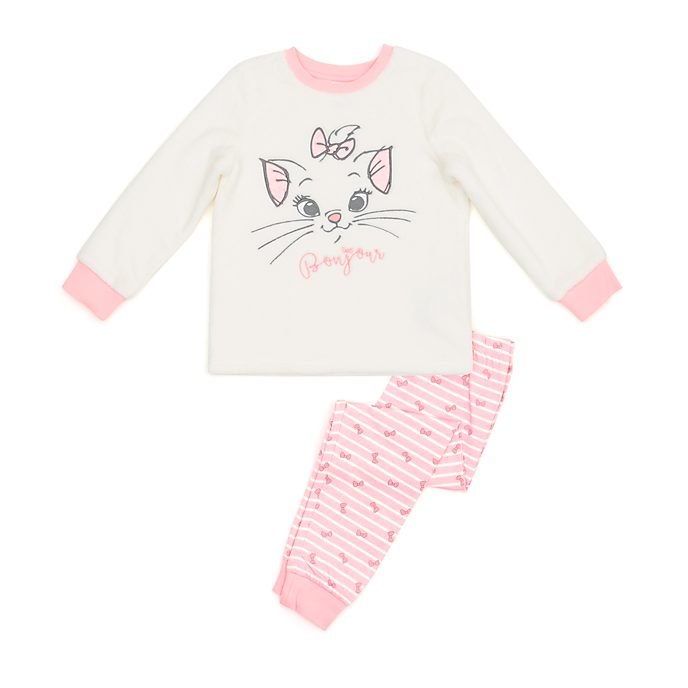 Disney Store Marie Fluffy Pyjamas For Kids, The Aristocats