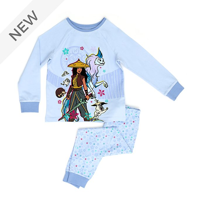Disney Store Raya and the Last Dragon Organic Cotton Pyjamas For Kids