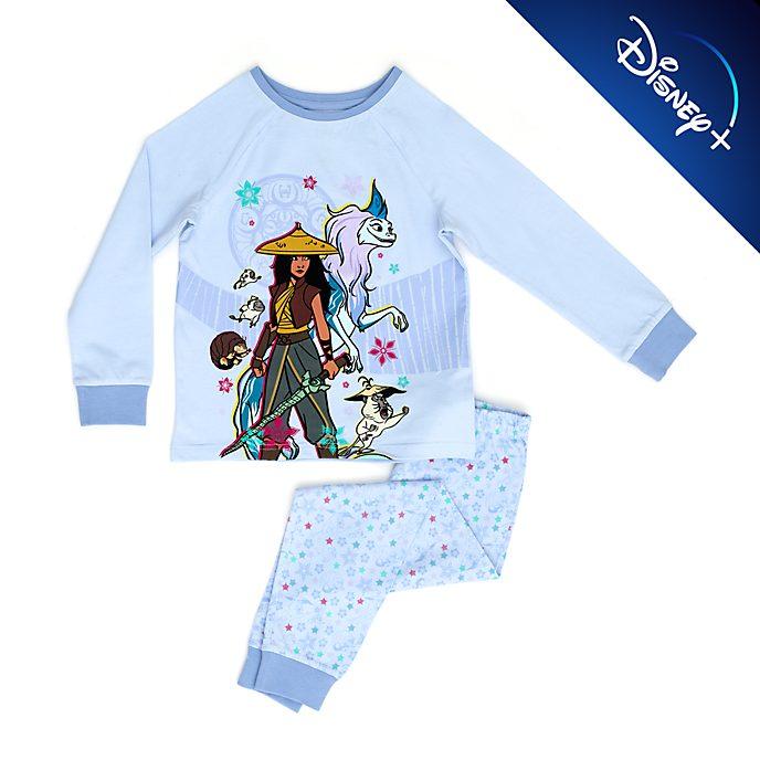 Pijama infantil algodón orgánico Raya y el Último Dragón, Disney Store