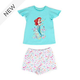Disney Store The Little Mermaid Organic Cotton Pyjamas For Kids