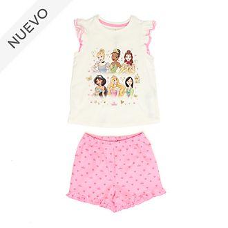 Pijama infantil algodón ecológico princesas Disney, Disney Store