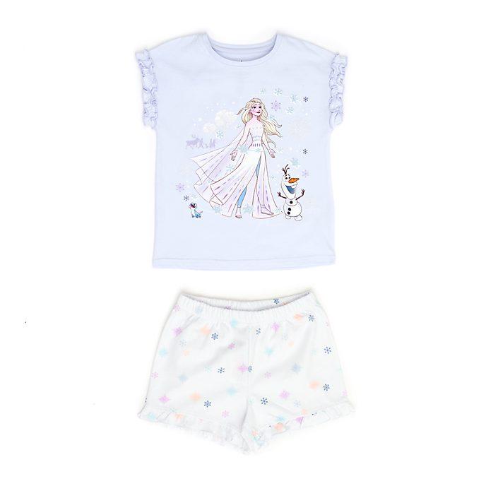 Disney Store Pyjama Elsa et Olaf en coton biologique pour enfants, La Reine des Neiges2