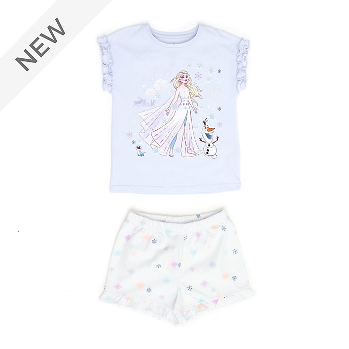 Disney Store Elsa and Olaf Organic Cotton Pyjamas For Kids, Frozen 2