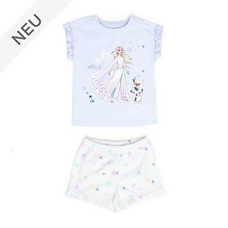 Disney Store - Die Eiskönigin2 - Elsa und Olaf - Pyjama für Kinder aus Bio-Baumwolle