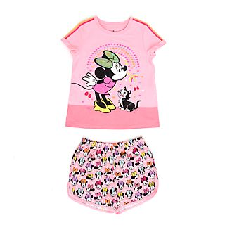Disney Store Minnie Mouse Organic Cotton Pyjamas For Kids