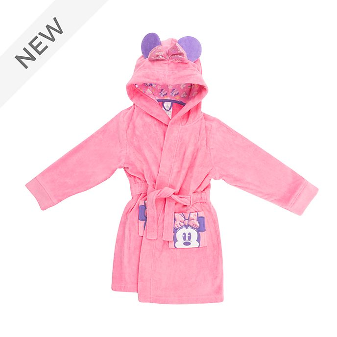 Disney Store Minnie Mouse Mystical Bath Robe For Kids