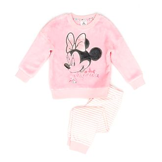 Disney Store Minnie Mouse Fluffy Pyjamas For Kids
