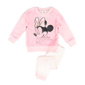 Disney Store - Minnie Maus - Flauschiger Pyjama für Kinder