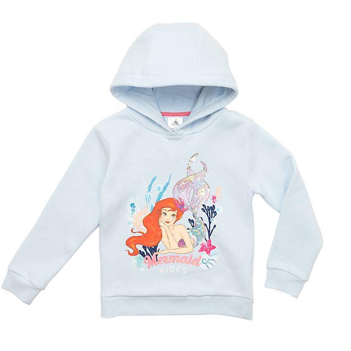 Disney Store The Little Mermaid Hooded Sweatshirt For Kids