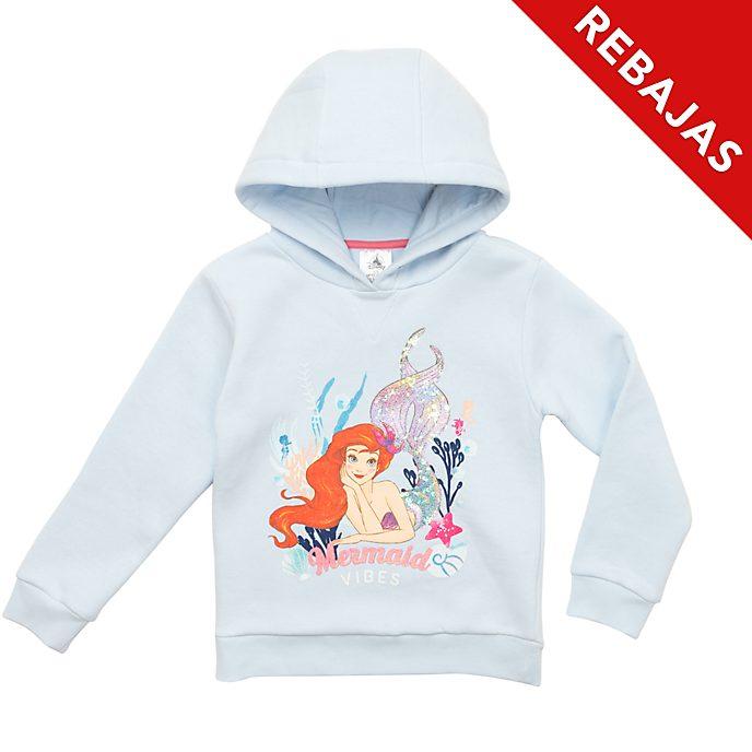 Sudadera infantil con capucha La Sirenita, Disney Store