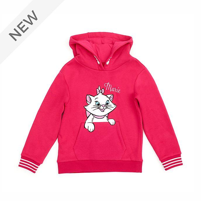 Disney Store Marie Hooded Sweatshirt For Kids