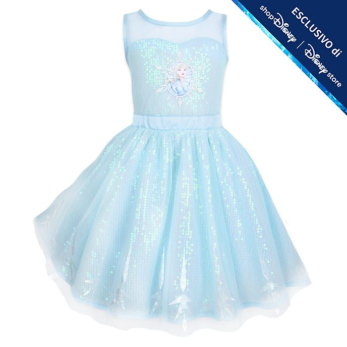 Vestito bimbi Elsa Frozen 2: Il Segreto di Arendelle Disney Store
