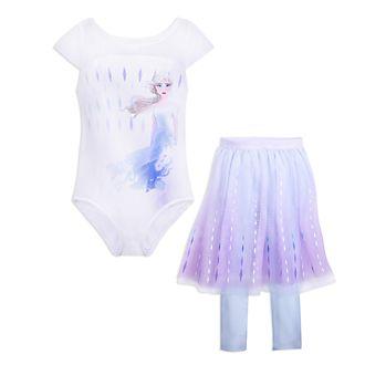 Disney Store Justaucorps avec tutu Elsa pour enfants, La Reine des Neiges2