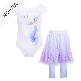 Body con tutù da ballerina bimbi Elsa Frozen 2: Il Segreto di Arendelle Disney Store