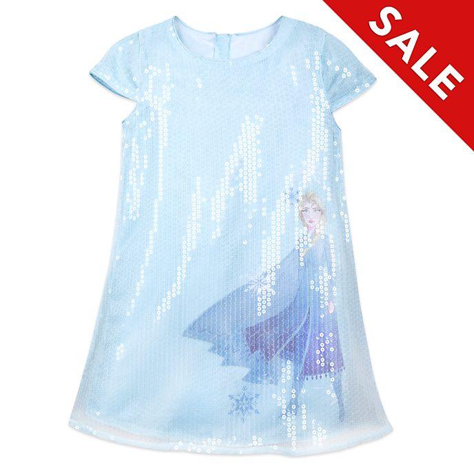 Disney Store Elsa Sequin Dress For Kids, Frozen 2