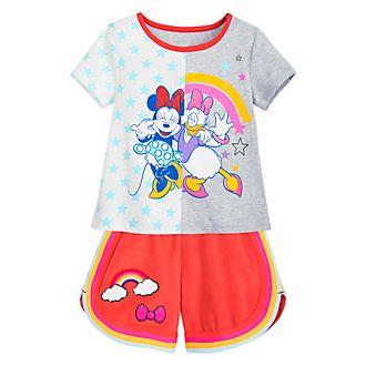 Disney Store - Minnie und Daisy - Set aus Oberteil und Shorts für Kinder
