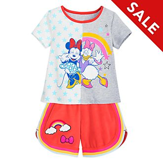 Disney Store Minnie and Daisy Top and Shorts Set For Kids