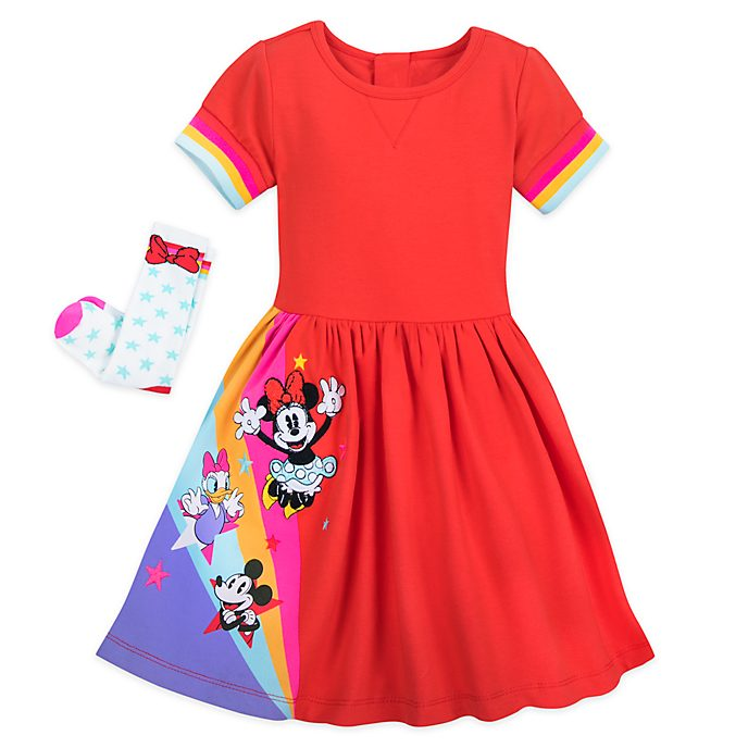 Disney Store - Minnie und Freunde - Set aus Kleid und Socken für Kinder