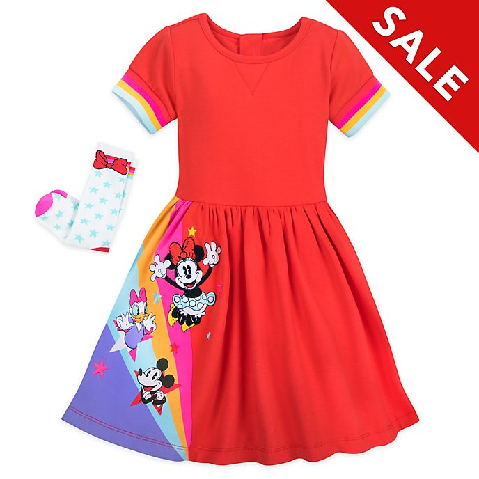 Disney Store Minnie and Friends Dress and Socks Set For Kids
