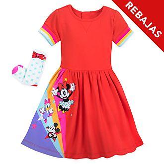 Conjunto infantil vestido y calcetines Minnie y sus amigos, Disney Store