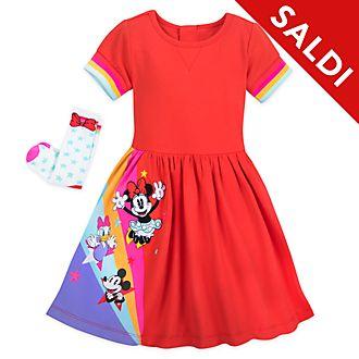 Completo vestito e calze bimbi Minni e i suoi amici Disney Store