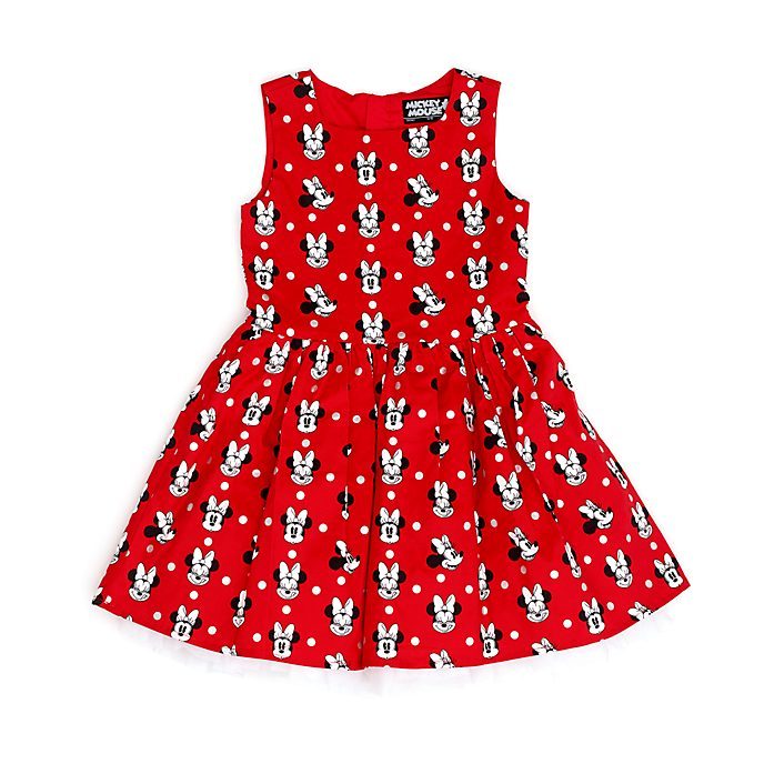 Disney Store Minnie Mouse Dress For Kids