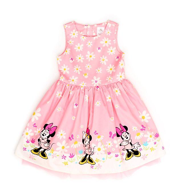 Vestido infantil rosa Minnie Mouse, Disney Store