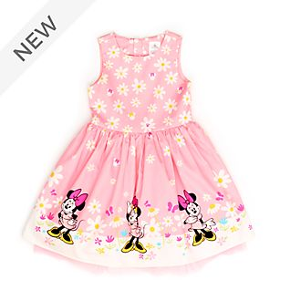 Disney Store Minnie Mouse Pink Dress For Kids