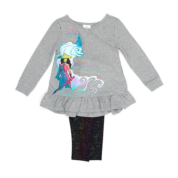 Disney Store Raya and the Last Dragon Top and Bottoms Set For Kids