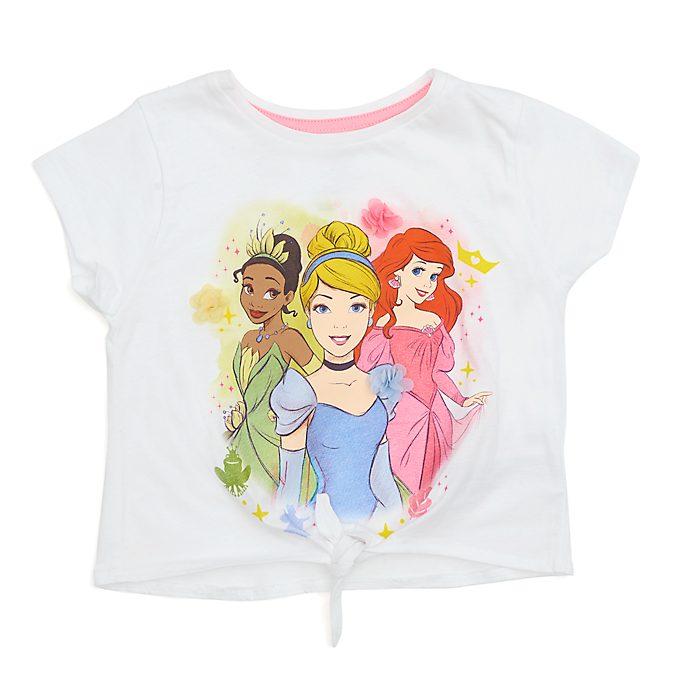 Camiseta infantil con cordón delantero princesas Disney, Disney Store