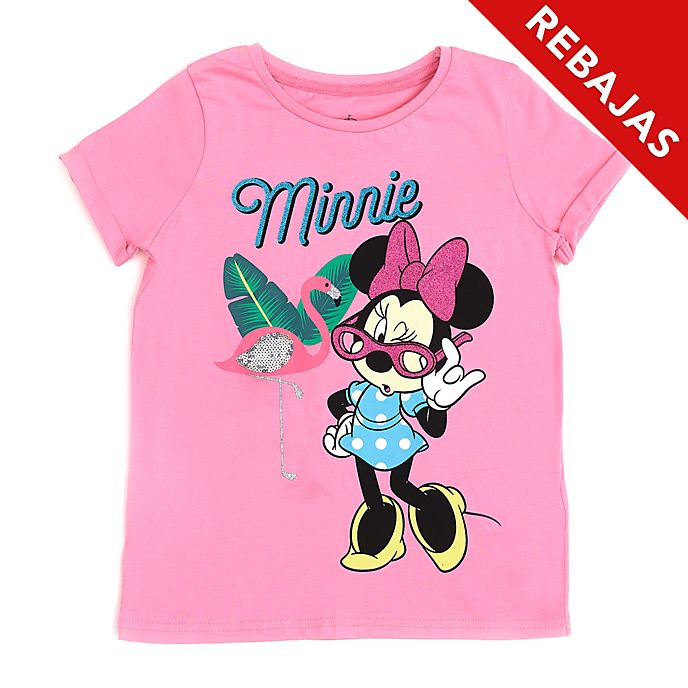 Camiseta infantil Minnie Mouse flamenco, Disney Store