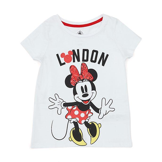 Disney Store T-shirt Minnie Londres pour enfants