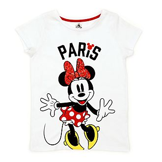 Disney Store Minnie Mouse Paris T-Shirt For Kids