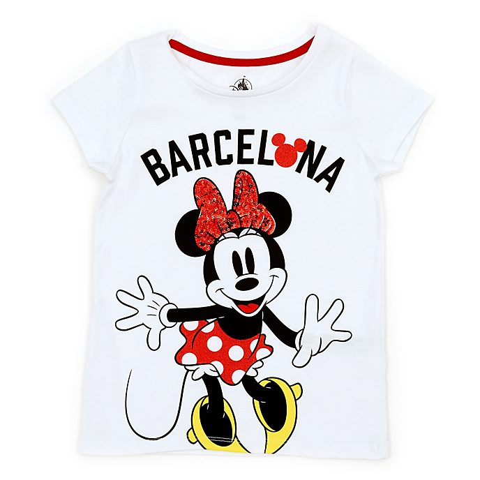 Disney Store T-shirt Minnie Barcelone pour enfants