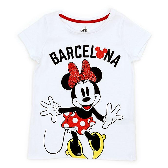 Camiseta infantil Barcelona Minnie Mouse, Disney Store